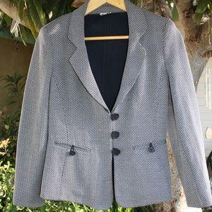 Stylish herringbone ARMANI COLLEZIONI blazer